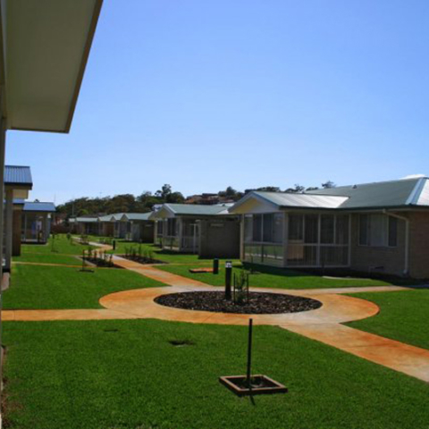 Retirement Village - Image Courtesy of Matilda Turf